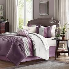 Purple Elephant Crib Bedding Nursery Beddings Gray And Purple Bedding Purple Yellow And Gray