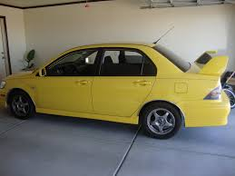 mitsubishi yellow luischav3z 2002 mitsubishi lancer specs photos modification info