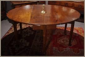 Oak Drop Leaf Dining Table Tables Dining Robin Wheatley Antiques Early Oak Period Oak