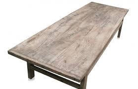 Table Basse Style Asiatique by Table Basse Vintage En Orme Massif Brut Belles Veinures Et Noeuds