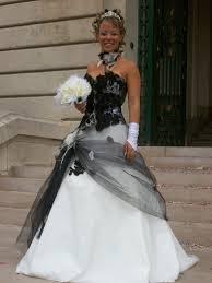 robe de mari e bicolore robe de mariée et blanche mariage forum vie pratique