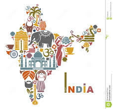 Maps Of India by Map Of India Stock Vector Image 43099304