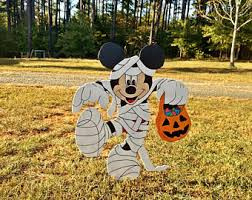 halloween yard art etsy
