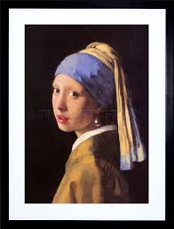 painting the girl with the pearl earring johannes vermeer girl pearl earring painting framed print