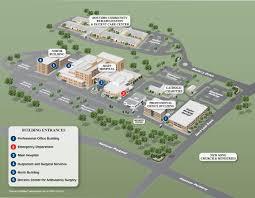 campus map doctors community hospital