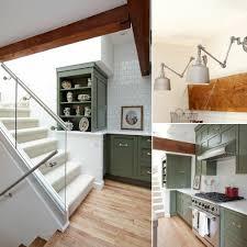 Green Kitchen Cabinet Green Kitchen Cabinets Popsugar Home