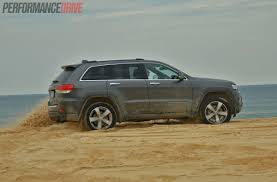 beach jeep 2014 jeep grand cherokee limited v6 review video performancedrive