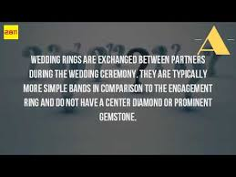 Difference Between Engagement Ring And Wedding Band by What Is The Difference Between An Engagement Ring And A Wedding