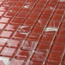 Popular Diy Stone Tile Buy by Kitchen Burgundy Red Glass Mosaic Wall Tile Stone Kitchen