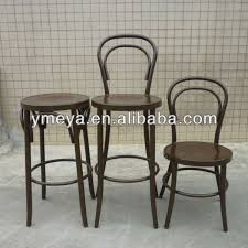 Bentwood Bistro Chair New Classic Furniture Stackable Aluminum Bentwood Bistro Chairs