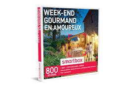 coffret smartbox table et chambre d hote coffret cadeau week end gourmand en amoureux smartbox