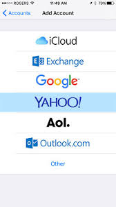 yahoo email not pushing to iphone how do i set up iphone or ipad to get my rogers emails