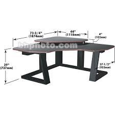 Corner Studio Desk Winsted Digital Corner Workstation Editing Desk E4535 E4535 B H