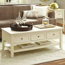 white end table with storage ashington antique white coffee table ashington a f c white stain