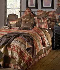 Cabin Bed Sets Simple Comforter Sets On Clearance Rustic Bedding Cabin Place