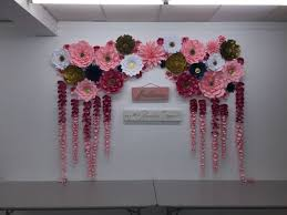 wedding backdrop paper flowers wedding backdrop paper flowers diy backdrop paper flower