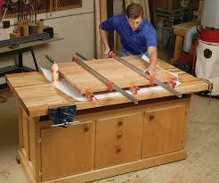 Work Bench Table Aw Extra Dream Workbench Popular Woodworking Magazine