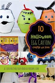 Craft Ideas For Kids Halloween - 10 halloween egg carton crafts for kids spaceships and laser beams