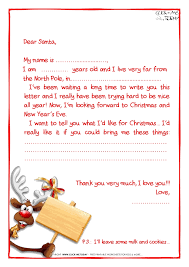 sample letter to santa claus with ps reindeer 22