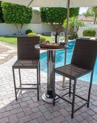 Patio High Top Table Garden Bar Table Bar Height Patio Chairs Pub Style Outdoor