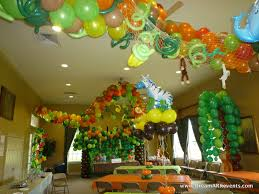 home decor for birthday parties interior design view animal themed birthday party decorations