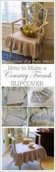 best ideas about dining chair covers pinterest confessions plate addict how make country french slipcover slipcovers for dining chairssewing