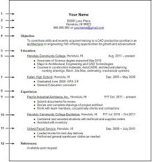 Student Resume Templates Free Resume Templates For College Students With No Experience College