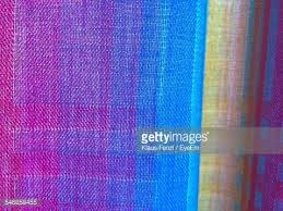 Multi Colored Curtains Closeup Of Multi Colored Curtains At Home Stock Photo Getty Images