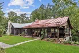 log house emmitsburg log house overlooking creek tops sales list real estate