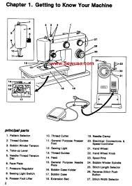 index of sewing machine pictures
