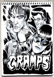 Cramps Lux Interior The Crypt Of The Cramps