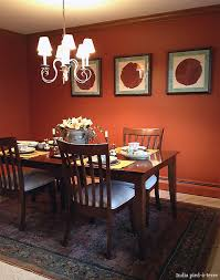 paprika paint applied dining room re do revealed nomadic