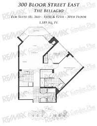 Bellagio Floor Plan The Bellagio Toronto Remax Condos Plus