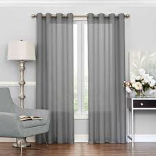 light grey sheer curtains gray sheer curtains for window jcpenney