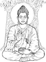 Buddha Clipart For Desktop Buddhist Coloring Pages