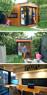 outdoor office pod curved garden room pod modern outside home