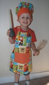 toddler apron and the colors creative space
