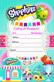 minecraft party invites shopkins party invite download free encore kids parties