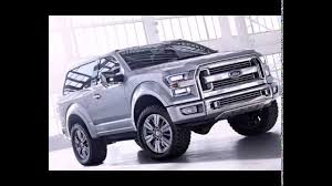 Ford Raptor Bronco - 2018 ford bronco svt youtube