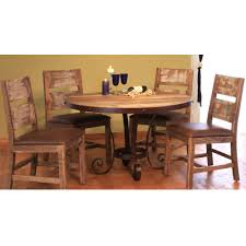 Round Dining Sets Antique 5 Piece Round Dining Set American Home Furniture Store