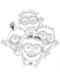 printable 22 cute despicable minion coloring pages 4321 cute