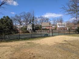 here u0027s the story behind the random tennis court in someone u0027s