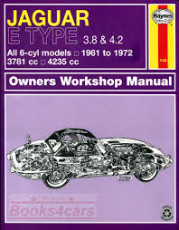 jaguar e type shop service manuals at books4cars com