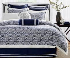 bedding set prodigious kate spade blue and white bedding