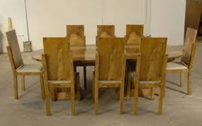art deco dining table and chairs uk art deco walnut dining table