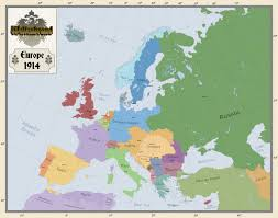 Europe Map In 1914 by Europe 1914 By Arminius1871 On Deviantart