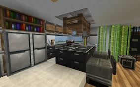 minecraft pe small galley kitchen storage ideas home design