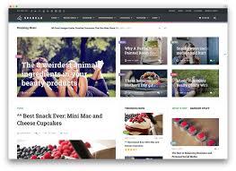 best blog themes ever list of best modern tech blog wordpress themes 2018