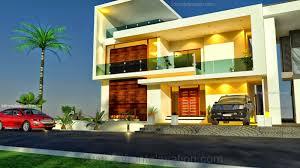 Contemporary Home Designs For Kerala 25 Luxurious Modern Home Elevation Myonehouse Net