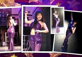 selena quintanilla purple jumpsuit costume selena quintanilla costume purple criss cross by ilonkadesigns